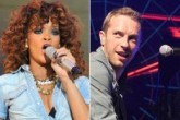Rihanna canta con Coldplay