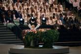 """Lady Gaga interpreta """"Imagine"""" en los Juegos Europeos de Bakú 2015"""