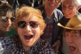 ¡Mira Ed Sheeran cantó con los Rolling Stones!