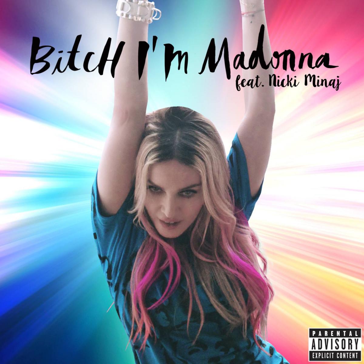 "Madonna muestra un adelanto de ""Bitch I'm Madonna"" Feat. Nicki Minaj"