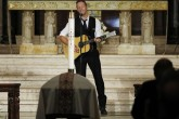 Chris Martin cantó en el funeral del hijo del Vicepresidente de EE.UU