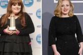 ¡Adele bajó 68 kilos!