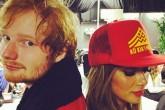 Nicole Scherzinger ya conoce a los padres de Ed Sheeran.
