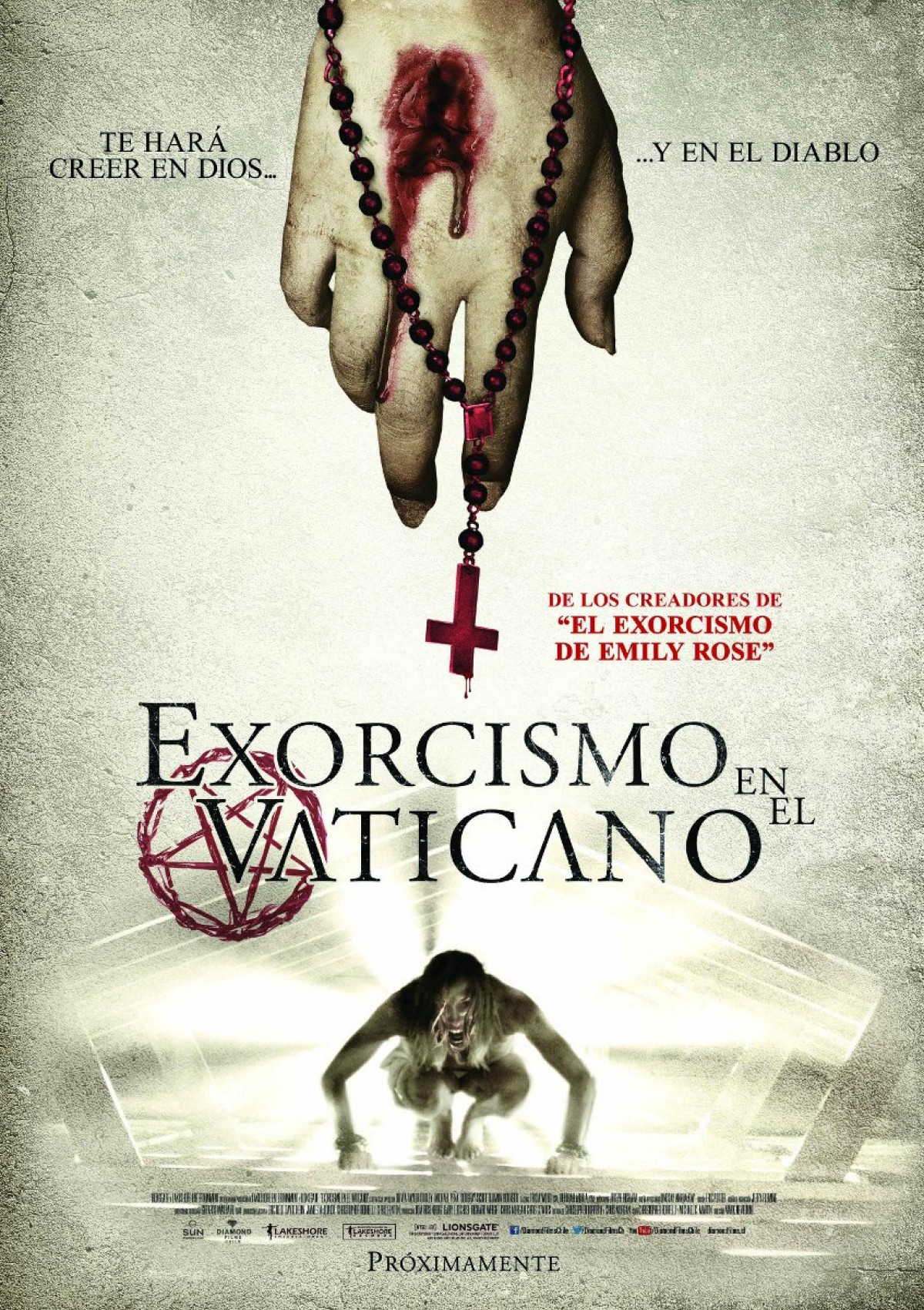 Exorcismo en el Vaticano se estrenará el viernes.