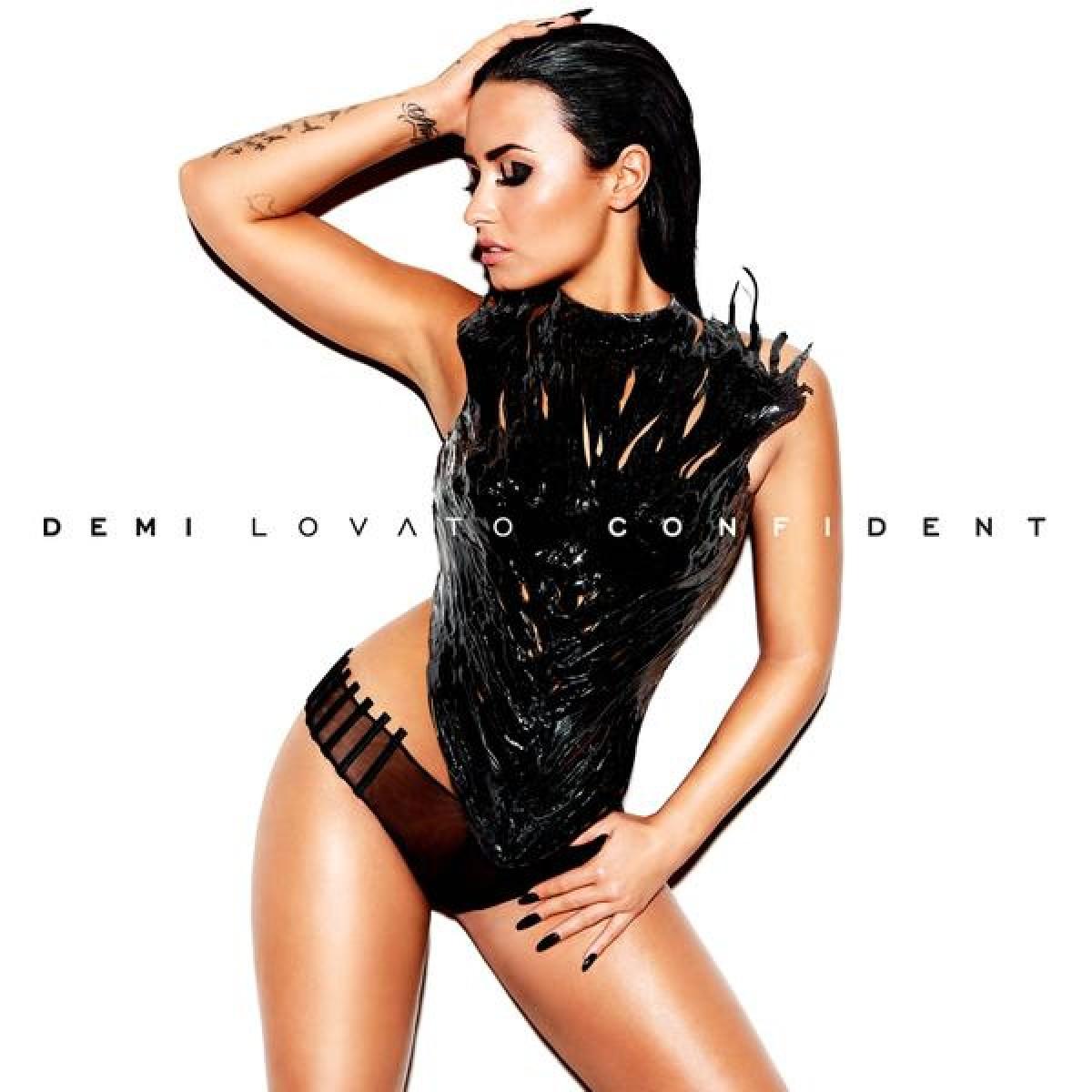 Demi Lovato, muy sexy en la portada de su nuevo disco