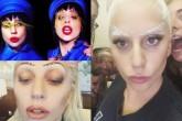 Lady Gaga pone de moda las cejas artísticas
