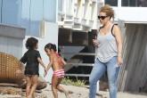 Mariah Carey disfruta de Malibú con sus mellizos Monroe y Moroccan.