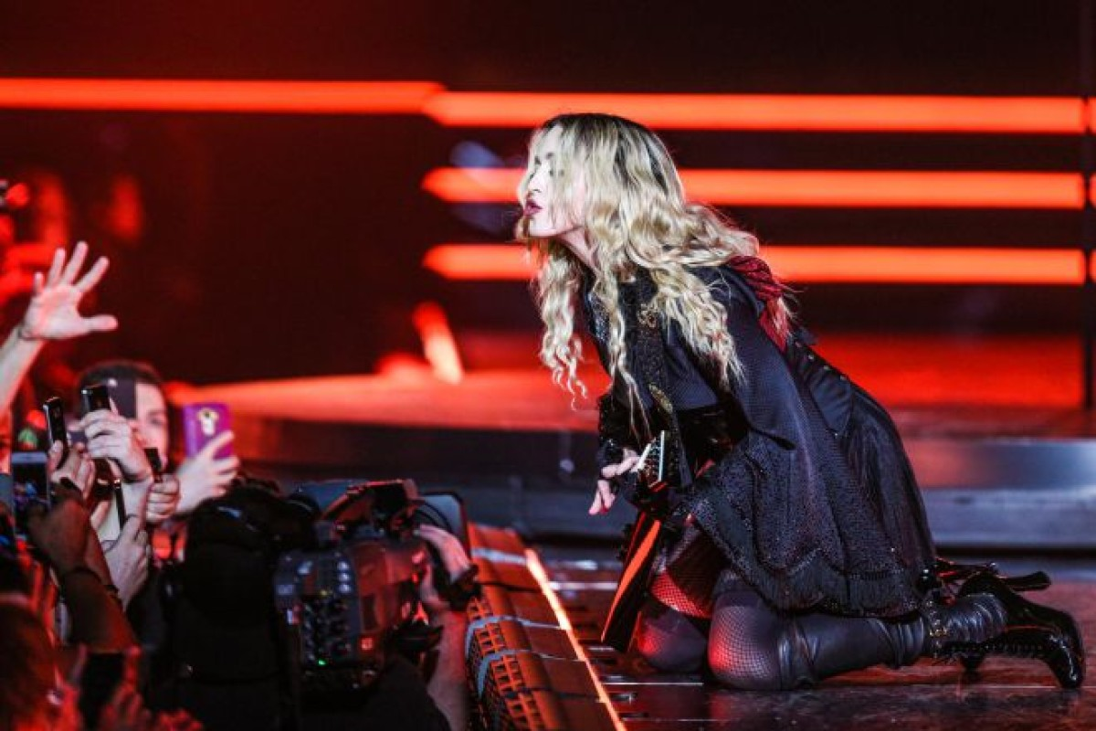 "¡Madonna estrena su ""Rebel Heart Tour""!"