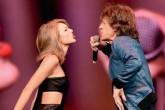 Mick Jagger sube al escenario con Taylor Swift