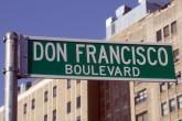 Don Francisco ya tiene una calle en Nueva York