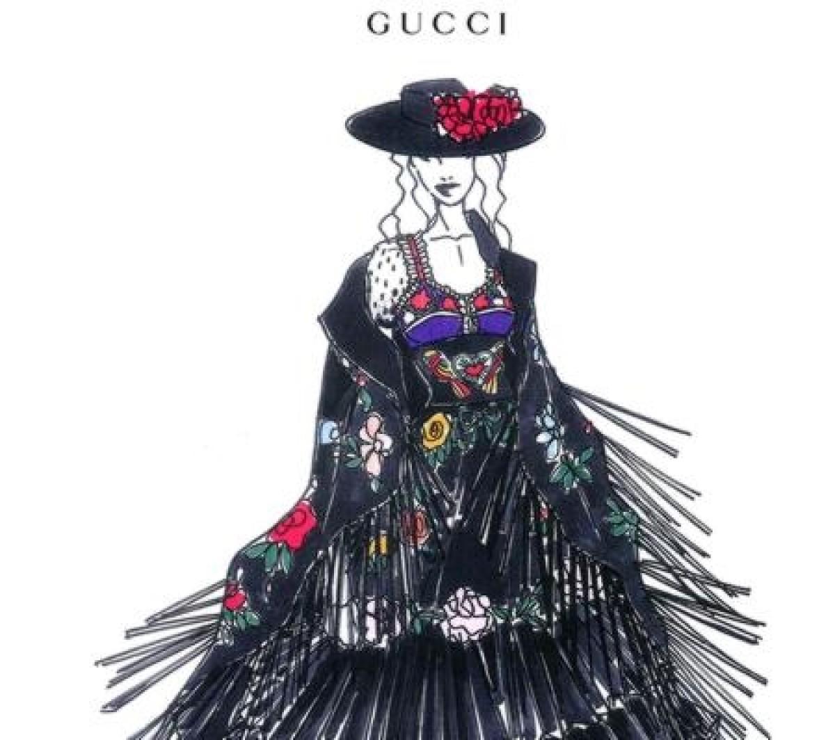 Gucci viste a Madonna en su nueva gira