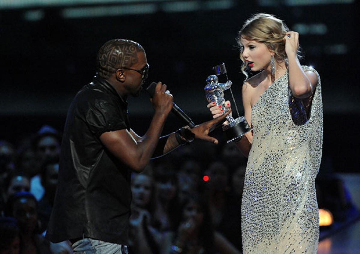 Taylor Swift apoya candidatura de Kanye West