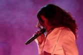 Rihanna deslumbró con un coro de 50 mil chilenos