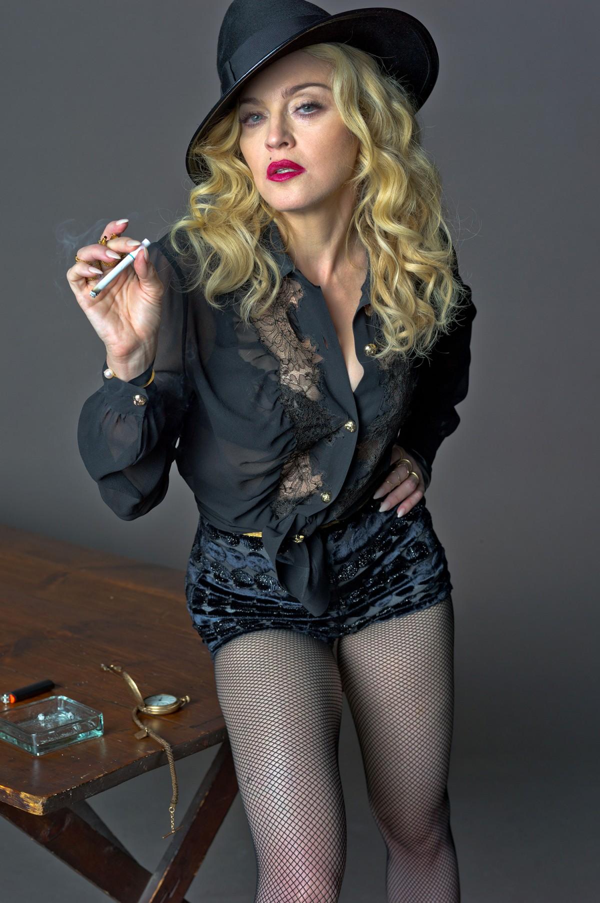 Los ejercicios secretos de Madonna