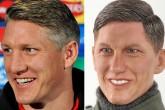 Hicieron un muñeco nazi de Bastian Schweinsteiger