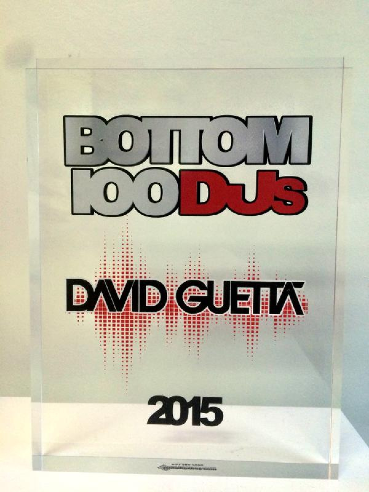 Hicieron una lista de los peores DJ's y David Guetta la encabeza