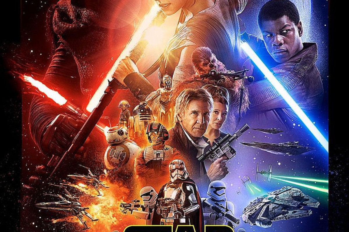Revelan póster de Star Wars: El Despertar de la Fuerza