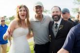 """Obama asiste """"de casualidad"""" a un casamiento"""