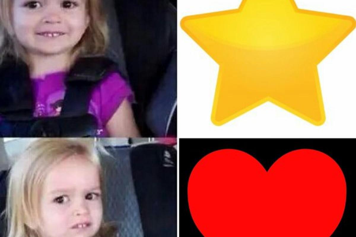 Corazón vs. Favorito: los mejores memes