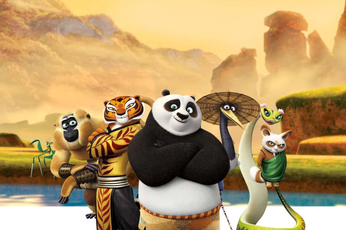 "Tercera parte de ""Kung Fu Panda"""