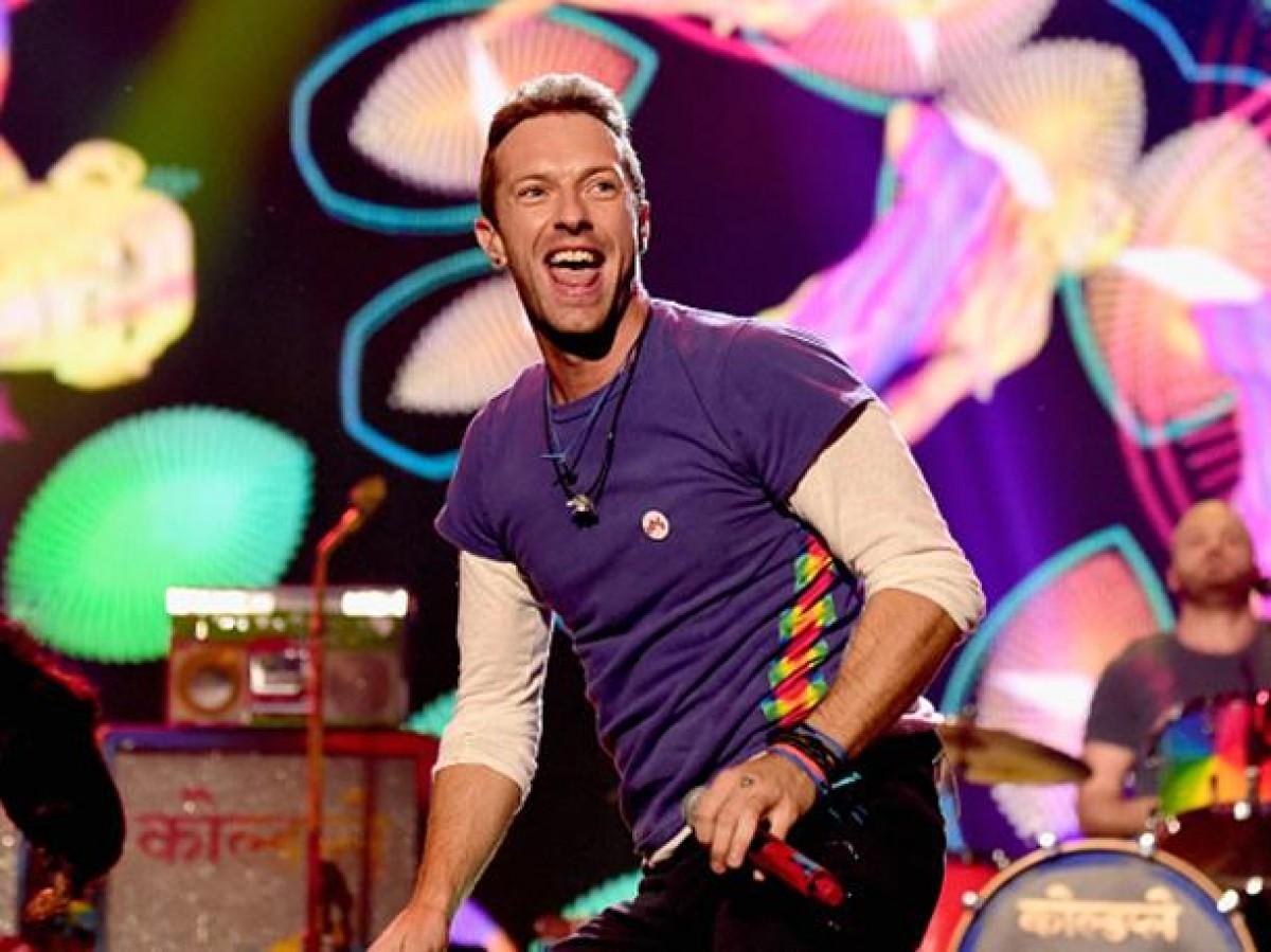 Coldplay presentó nuevo tema durante los American Music Awards