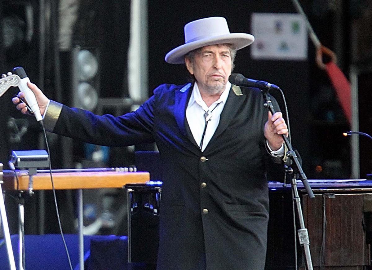 Bob Dylan pide vigilantes armados en conciertos que dará en Italia