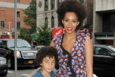 La hermana de Beyoncé contesta a los insultos contra su hijo