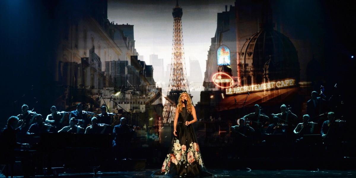 Céline Dion homenajeo a víctimas de París