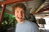 """Todos queremos  """"selfies animales"""", pero este irlandés las tiene."""