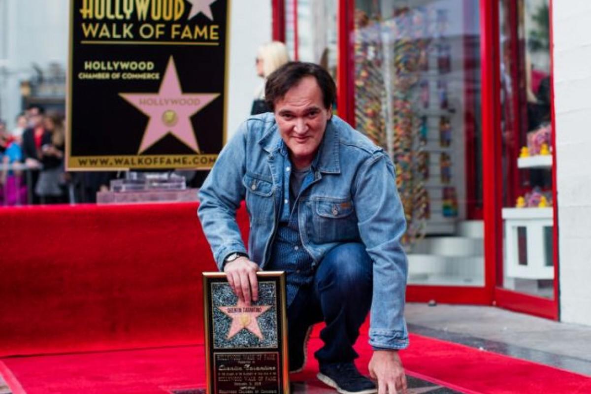 Quentin Tarantino ya tiene su estrella en el Paseo de la Fama