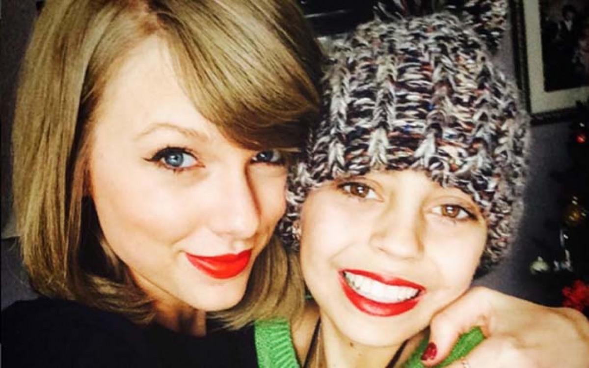 Taylor Swift cumplió el sueño de una fan con cáncer