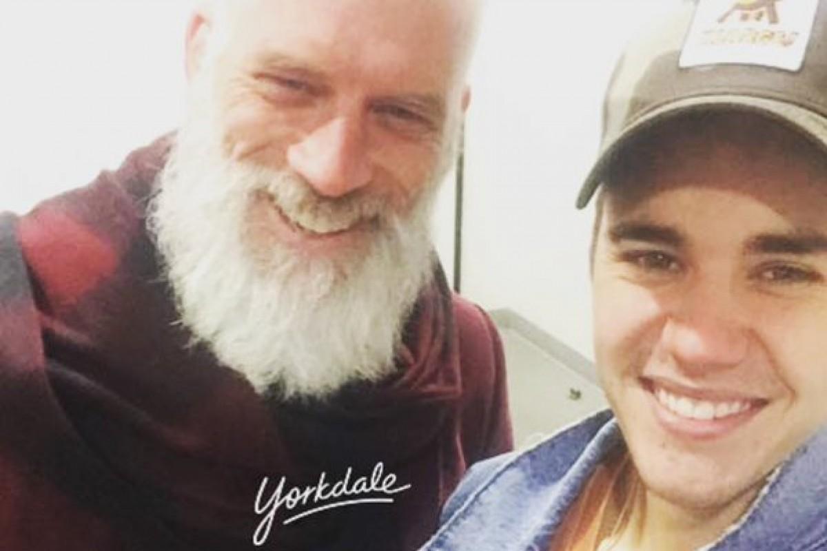 Justin Bieber y el poder de una selfie