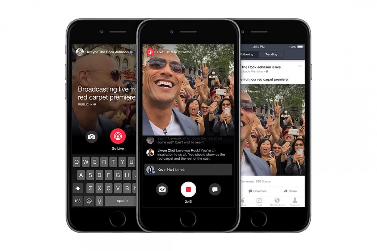 Facebook mejora su servicio de video en streaming