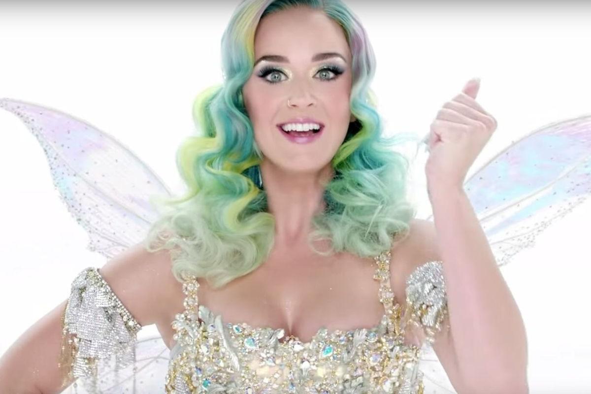 Katy Perry, la estrella de la Navidad