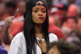 El gran susto de Rihanna.