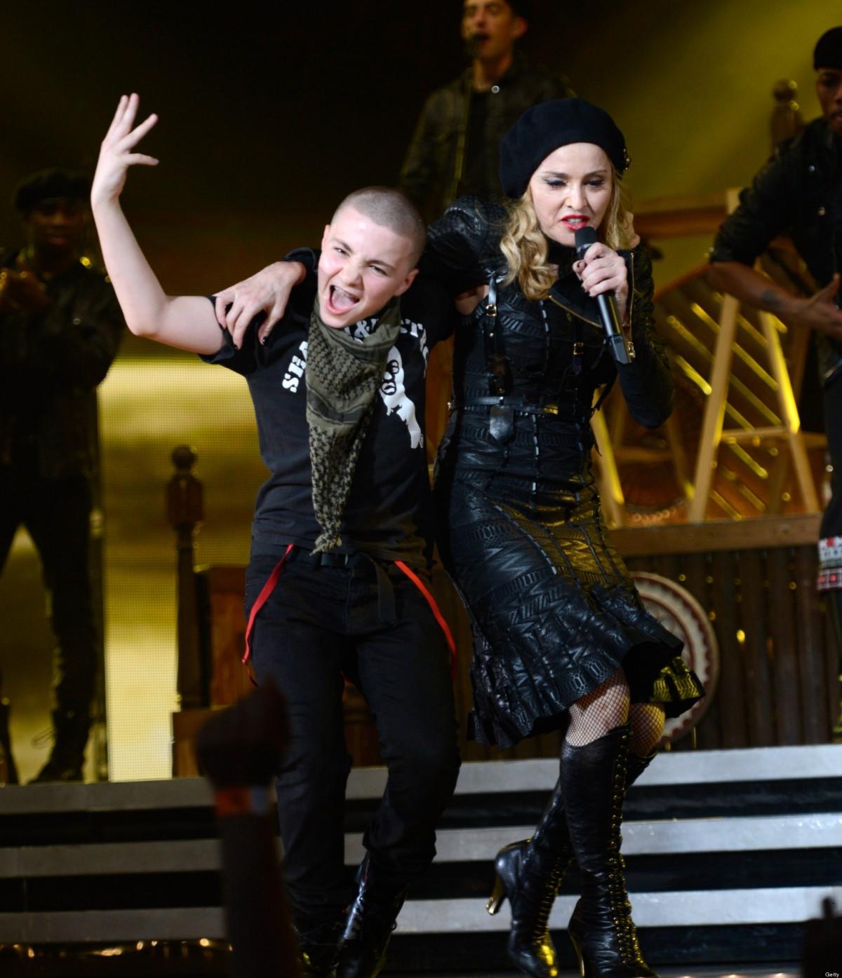 La Navidad más triste de Madonna sin su hijo Rocco.