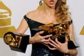 Taylor Swift había ganado 4 GRAMMYs, pero se quedó con 3