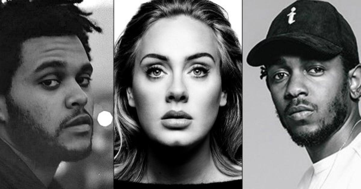 Adele, The Weekend, Kendrick Lamar confirmados en los GRAMMYs 2016