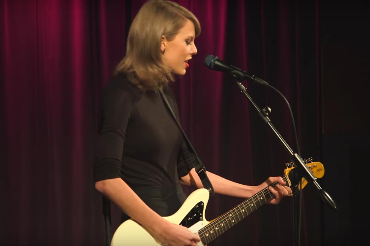 Taylor Swift y su paso por The GRAMMY Museum
