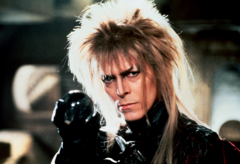 An evil goblin king, played by David Bowie, pictured  here, a talking door knocker, fairies and a colony of goblins will join producer/director Brian Henson and members of the Jim Henson Creature Shop at the Academy of Motion Picture Arts and SciencesÕ 20th anniversary screening and onstage discussion of ÒLabyrinthÓ (1986) on Thursday, July 20, at 8 p.m. at the Samuel Goldwyn Theater in Beverly Hills.