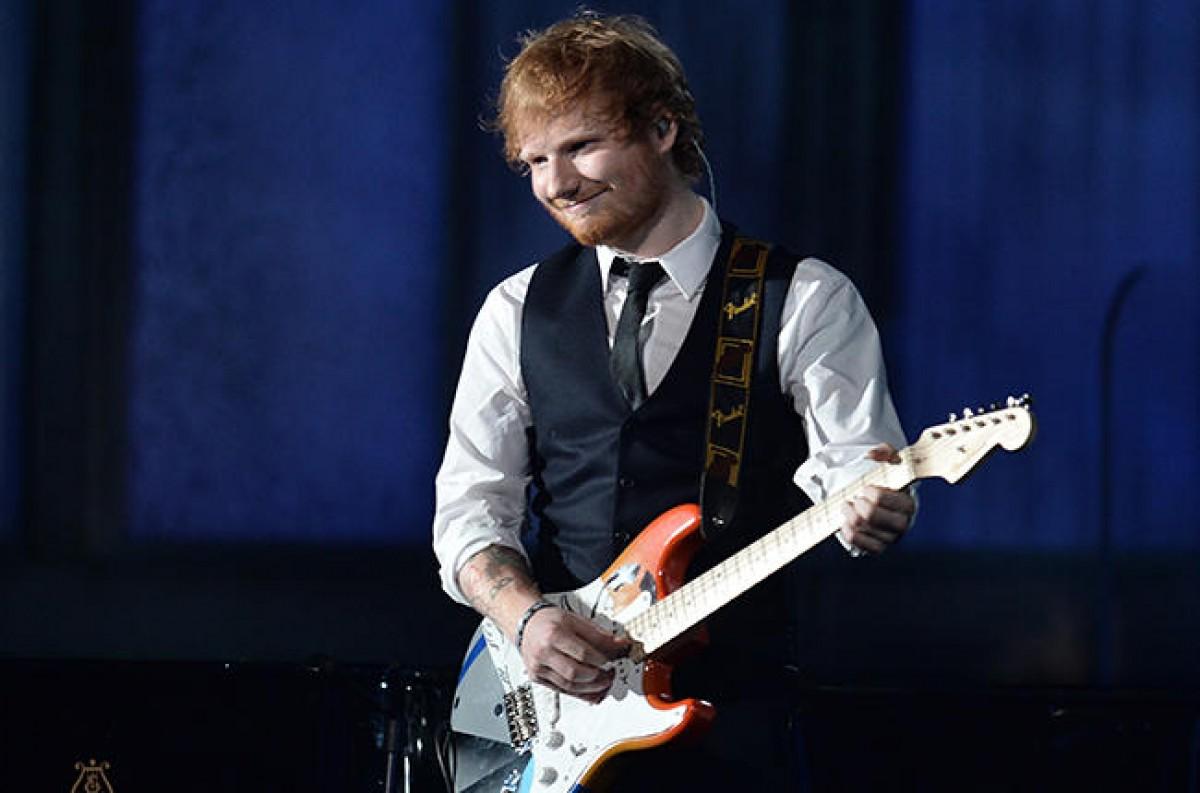 Ed Sheeran: 4 nominaciones en los Grammy Awards 2016