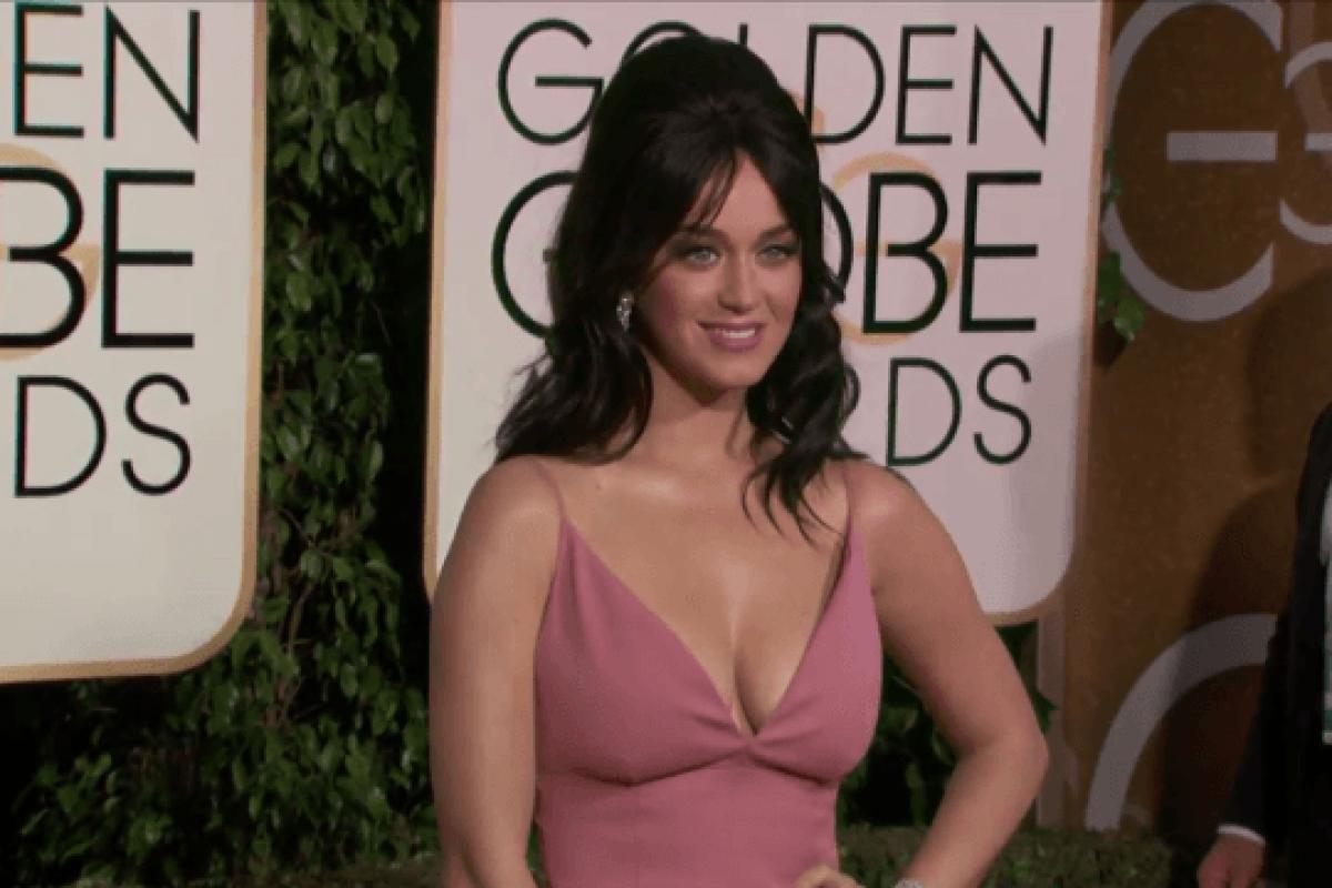 El look de Katy Perry en la gala de los Globos de Oro