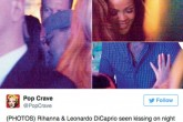 Rihanna y DiCaprio a los besos en París