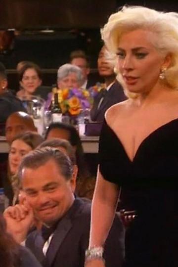 DiCaprio da una explicación sobre su reacción ante Lady Gaga