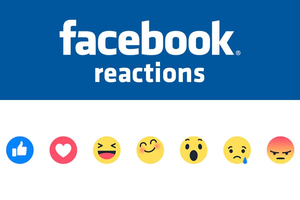 """Facebook lanza """"Reactions"""", la alternativa al """"no me gusta"""""""