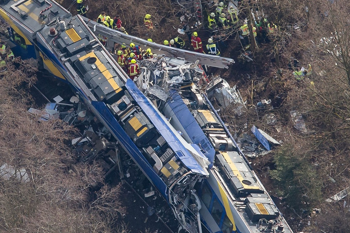 Accidente de tren en el sur de Alemania causa ocho muertos