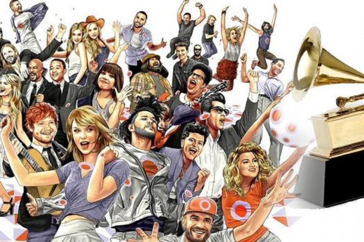 Momentos vividos durante la ceremonia de los Grammy