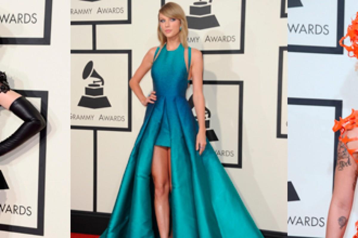 Grammys 2015: Los mejores y más extravagantes looks de la alfombra roja