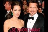 Angelina Jolie y Brad Pitt al borde de la separación
