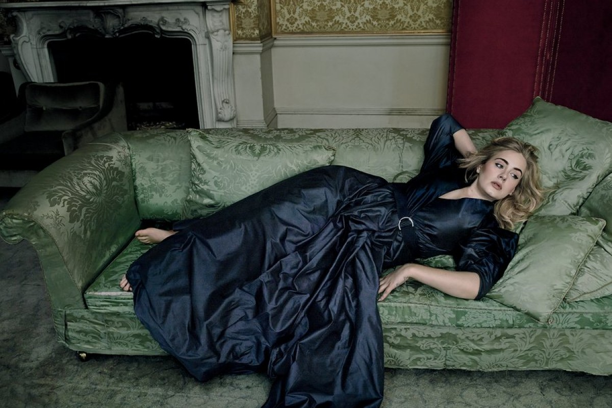 Adele sale en la portada de Vogue y da confesiones